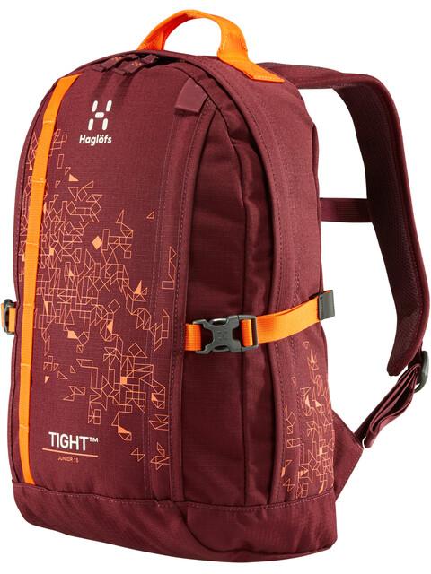 Haglöfs Tight Junior 15 Backpack Junior Aubergine/Cayenne